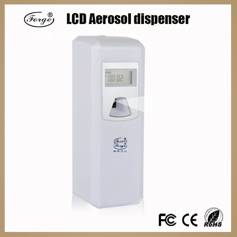Home Automatic Fragrance Dispenser ~ Lcd automatic aerosol dispenser toilet perfume