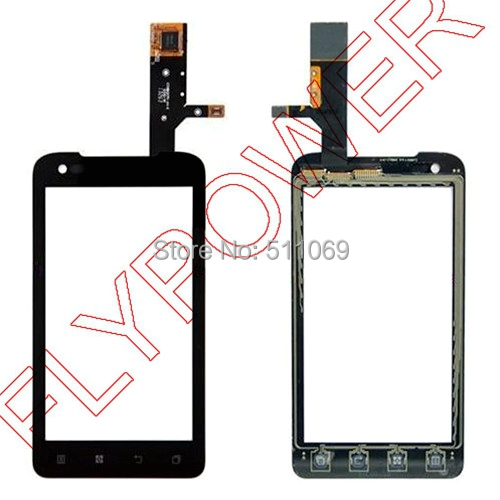 For Lenovo A660 Touch Screen Digitizer by free shipping; HQ and new; Black color;100% warranty(China (Mainland))