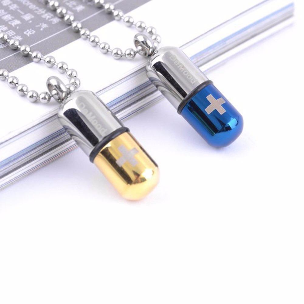Panda cremation jewelry pill perfume bottle urn pendants for Pill bottle jewelry
