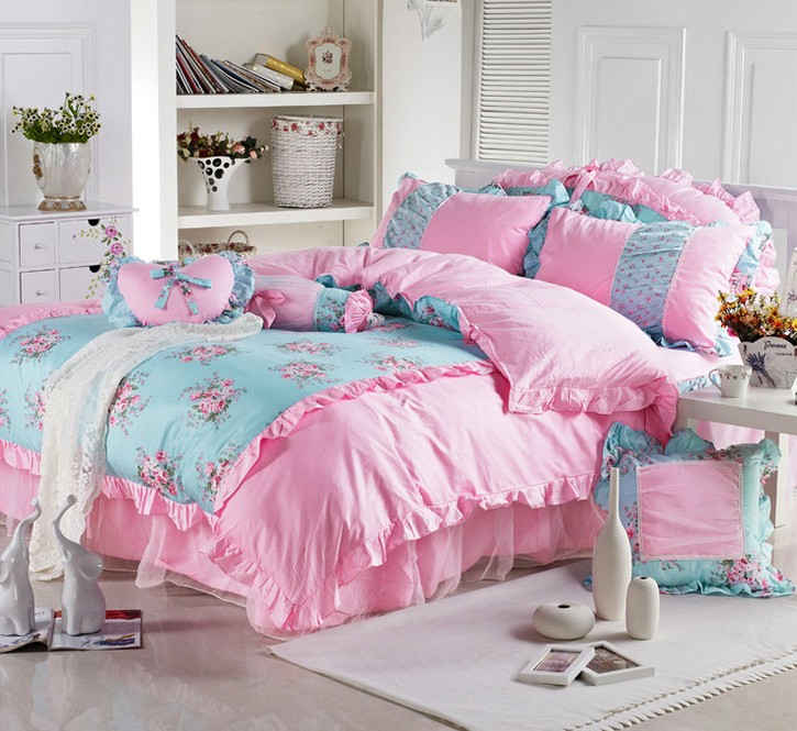 princess garden flowers quality cotton 3pcs children 4pcs girl bedskirt  cover bed set. Girls Twin Bed  Images About Beds For Girls On Pinterest Ikea Bunk