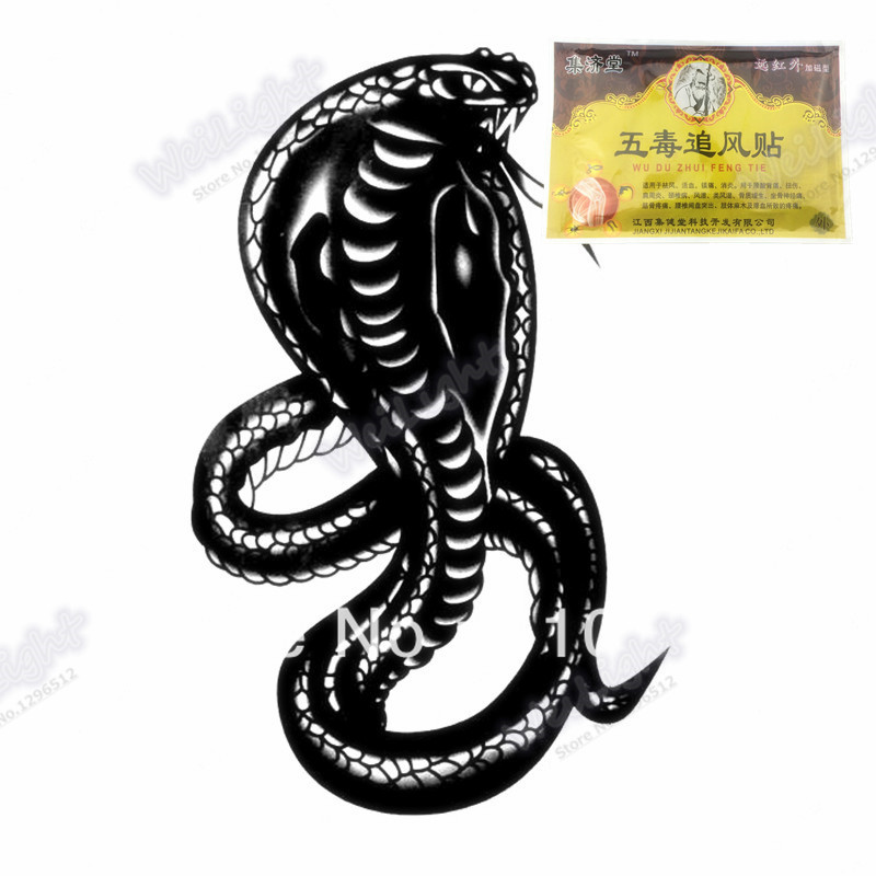 Best effect Scorpion Venom Stickers Pain Relief Medical Plaster Patch Body Massager Plaster For Joints Tens Ointment 1Pcs(China (Mainland))