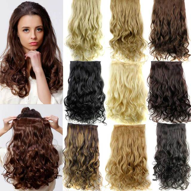 Cheap Synthetic Curly Hair Extensions 80