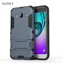 Buy Case Samsung Galaxy J3 2016 J300 J310 Slim Hard Back Phone Case Shockproof Robot Armor Protector Hybrid Rugged TPU Cover < for $2.98 in AliExpress store