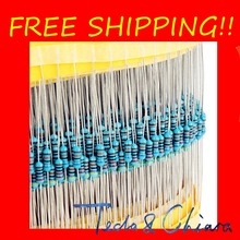 Buy 500Pcs 250 R Ohm 250R 250Ohm 1/2W 0.5W 0.5 1/2 1% Metal Film Resistor Colored ring Resistance Free High for $8.99 in AliExpress store