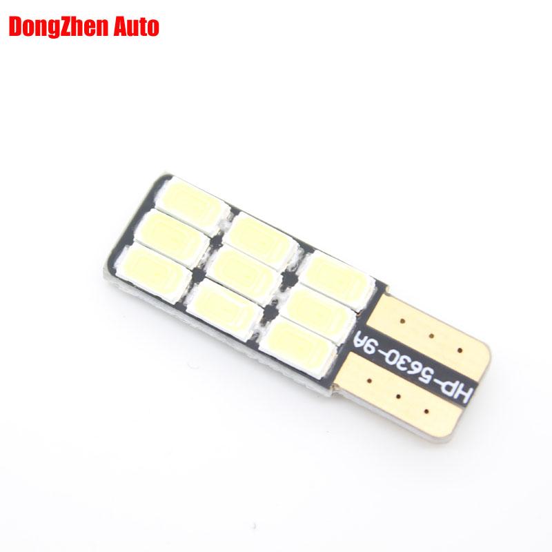 1X Auto T10 W5W 5730 9 LED 3W Error Free Canbus Door Marker Bulb Light Car 5W5 Dome Festoon C5W C10W Xenon Car-styling - DongZhen Technology Co., Ltd store