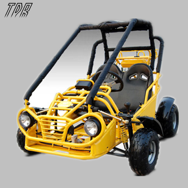 New Arrival Hot Sale Magnum Mid Size 3spd Semi-reverse Yellow Double Seater Karts Mountain Bike Venue ATV Motocross HHY(China (Mainland))