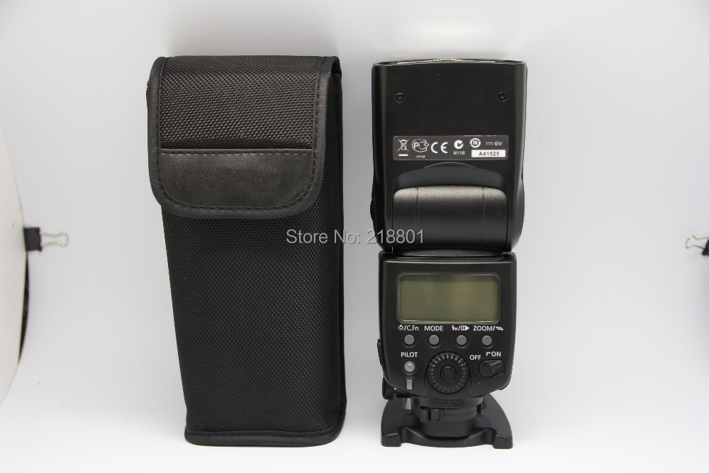 Comparable original Speedlite 580EX II Shoe Mount Flash Canon 5D Mark 60D 7D 600D 650D/ Support high speed SYNC - ShenZhen WanNingShuoKe Technology Co.,Ltd. store