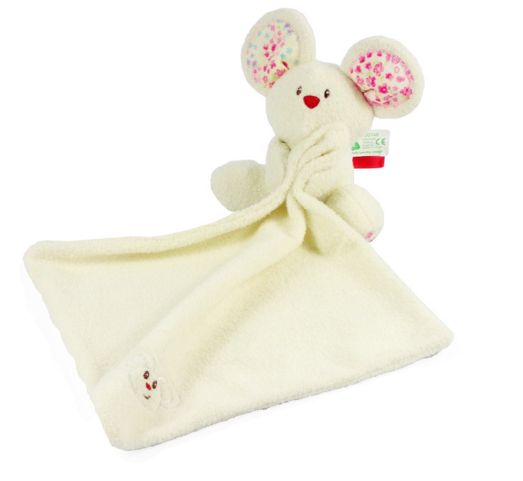 Rats Comforting Doll Appease Wipes Stuffed Toys Puppets Saliva Towel Newborn Gift Appease Towel Baby Educational Plush Toy(China (Mainland))