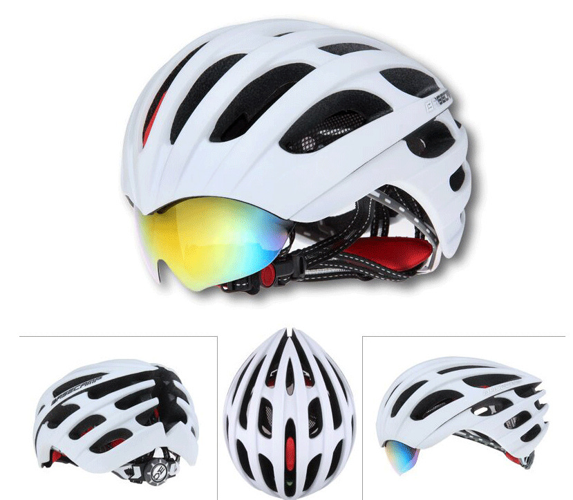 New Hot Specialized Bicycle Cycling Helmet ESP+PC Material Ultralight Mountain Bike Safe Helmet Insect Net Ciclismo Casco 3 lens(China (Mainland))
