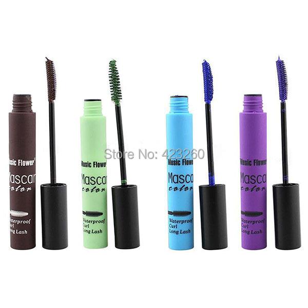 Women Volume Curling Eye Lashes Eye Black Makeup Waterproof Eyelash Mascara(China (Mainland))