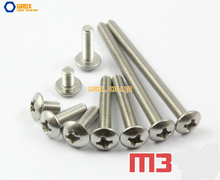 Buy M3 304 Stainless Steel Phillips Truss Head Machine Screw for $12.30 in AliExpress store