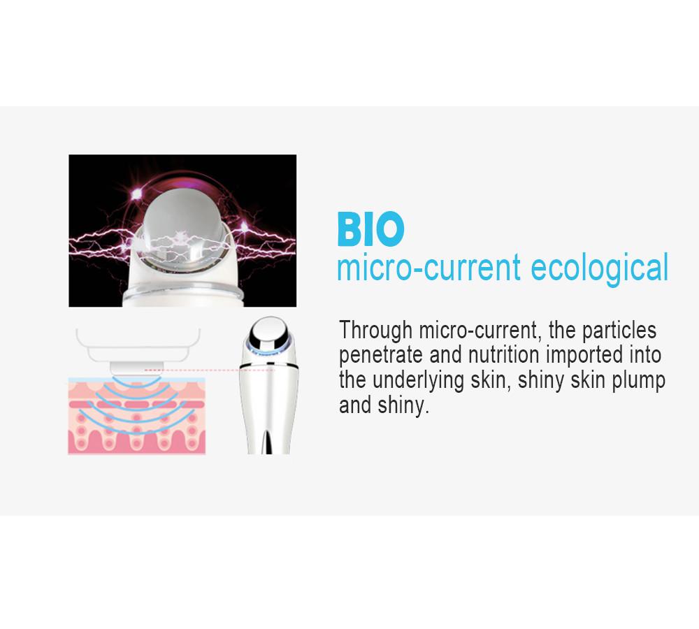 2016 Hot!Mini Vibration anti-wrinkle Ultrasonic massage eye wrinkles LED light Acne Wrinkle Remover face lifting beauty machine