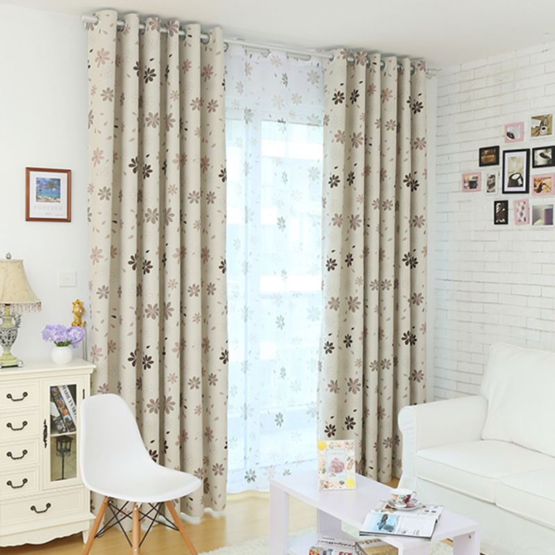 Buy 2015 New Ready Made Luxury Modern Shade Blackout Curtains For Living Room
