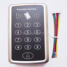 RFID Proximity Door Access Control Keypad door lock system+13.56MHz M1 Mf card Access Controller