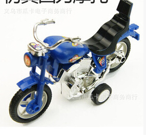 Plastic toy motorbike inertia exquisite small motorcycle toy(China (Mainland))