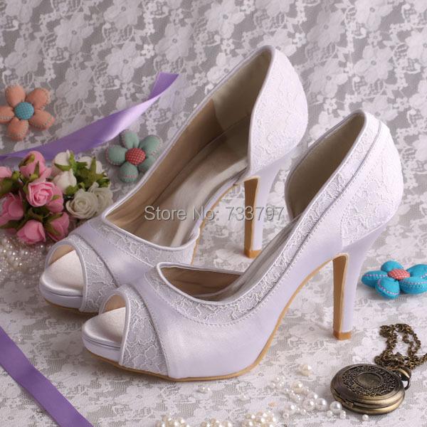 Здесь можно купить  (15 Colors)Free Shipping 2014 Summer White Platform Shoes Wedding High Heeled Size 8 Open Toe   Обувь