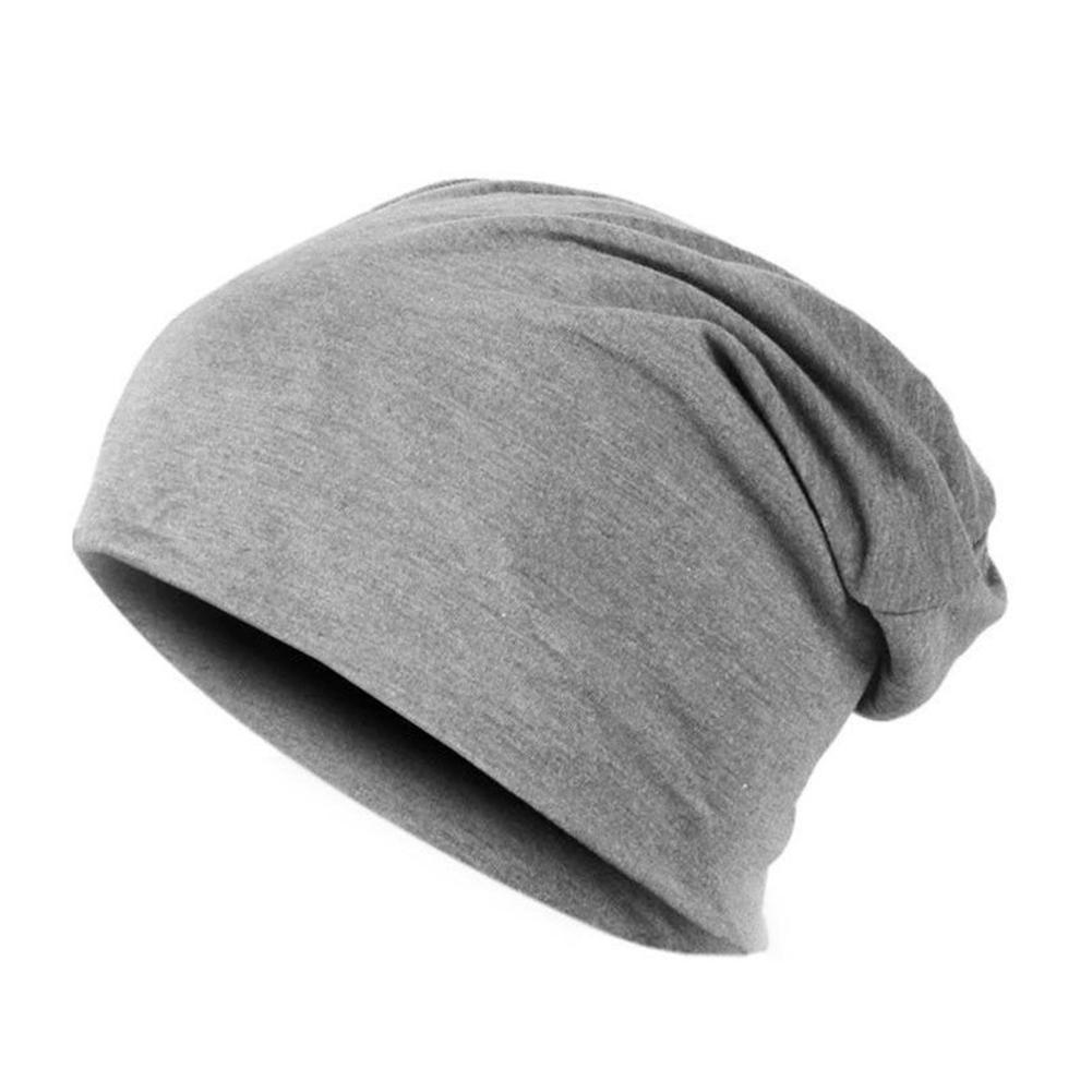 Мужская круглая шапочка без