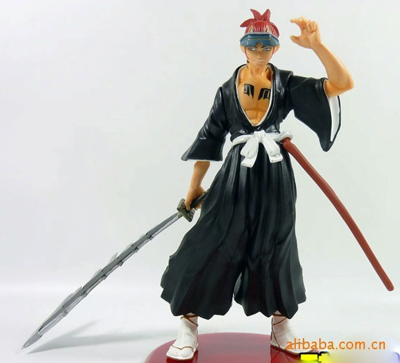 New Japan Anime Abarai Renji Brinquedos PVC Action Figure Juguetes Anime Figure Model Doll Kids Toys Gofts Free Shipping