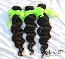 """queen hair DHL free shipping Mix 20""""22""""24"""" remy Brazilian hair extension Loose Wave(China (Mainland))"""