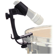 Pair Of Adjustable Drum Clips Microphone Mic