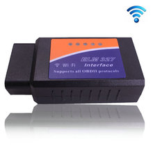 Best Quality  ELM327 WIFI  OBD2 Auto Scanner Scan Tool for IOS  OBD-II ODB2  Adapter(China (Mainland))