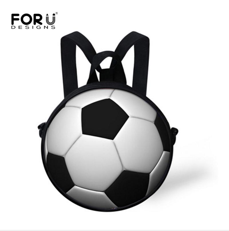New Small 3D Soccer School Bag for Boys Preschool Baby Kids Kindergarten Book Bag Football School Bag Mochila infantil Escolar(China (Mainland))