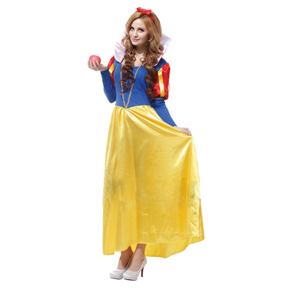 2014 New Cosplay Women's Full Sleeve Snow White Noble Juliet Costume Halloween Party Masquerade Show - Keelung Metal store