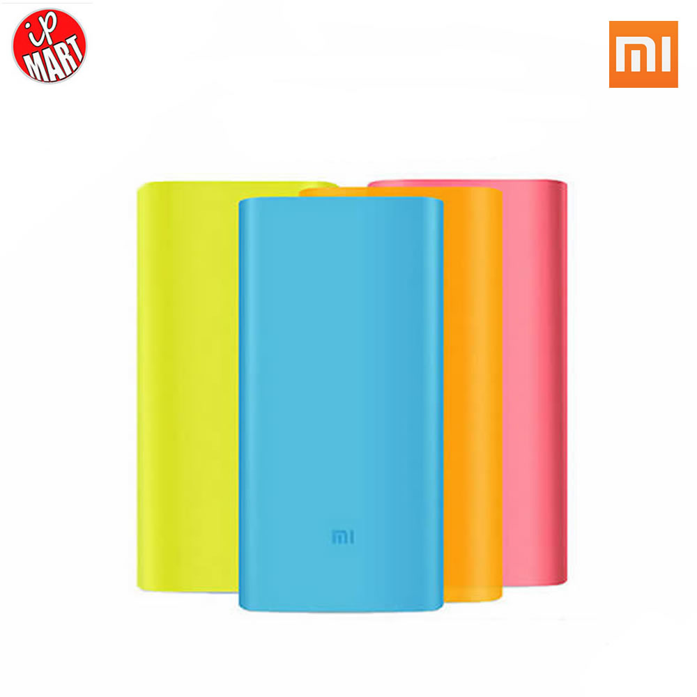 Silicon Case Xiao MI MIUI 5000mAh Power Bank Xiaomi Soft Colorful Protector - IP-Mart store