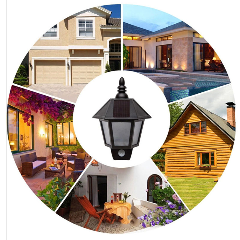 Bright Solar Powered Outdoor LED Light Motion Sensor Wireless Security Lighting for Porch, Outside Wall, Stairs, Home, RV, Deck