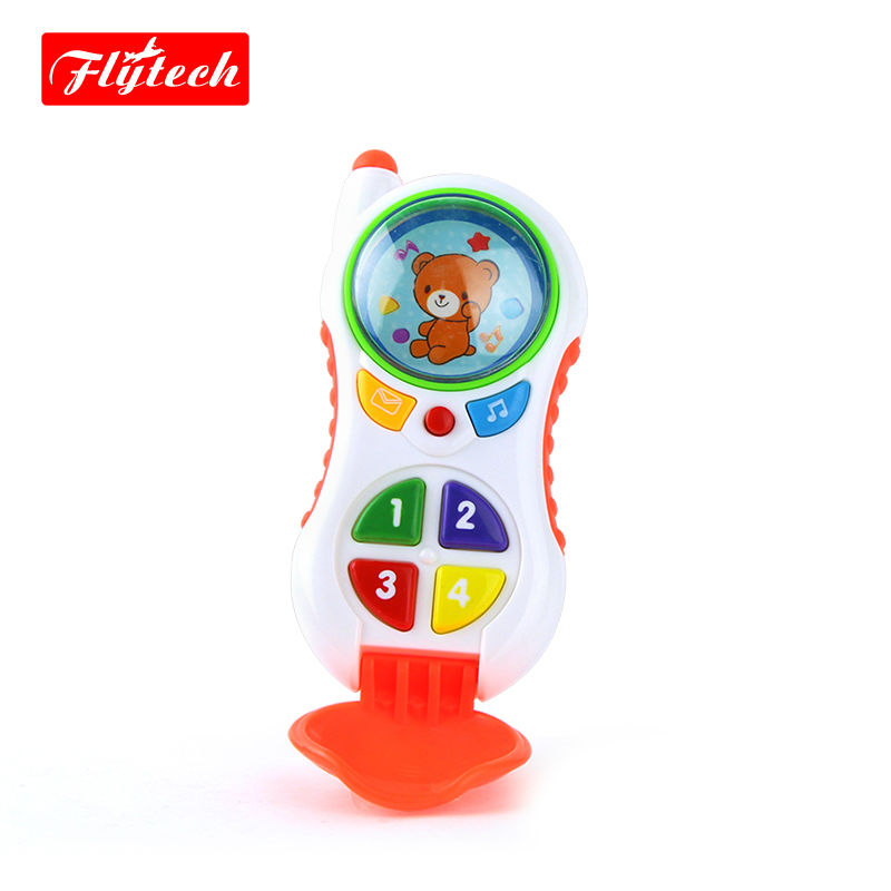 Baby Educational Electronic Toys Children Musical Phone Toys/ Baby Musical Sound Cell Phone/Developing Toys(China (Mainland))