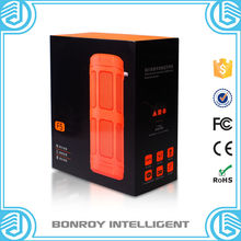 6W Multi-Colored Waterproof Mini Portable Bluetooth Speaker with Power Bank