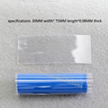 18650 lithium battery encapsulation shiny transparent color heat shrinkable casing pipe set of battery skins PVC