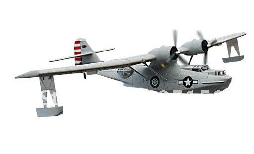 PBY Catalina rc seaplane model RTF without battery(China (Mainland))