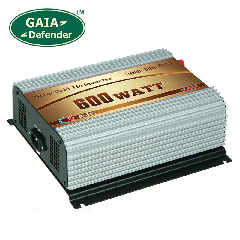 600W Solar Grid Tie Inverter DC 10.8V-30V AC 90V-140V for 100V 110V 120V(China (Mainland))