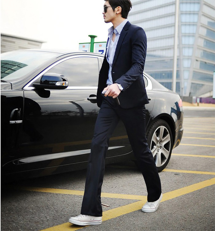 51-Free Shipping New 2015 man suit classic Fashion grooms man suits! Men's Blazer Business Slim Clothing Suit And Pants