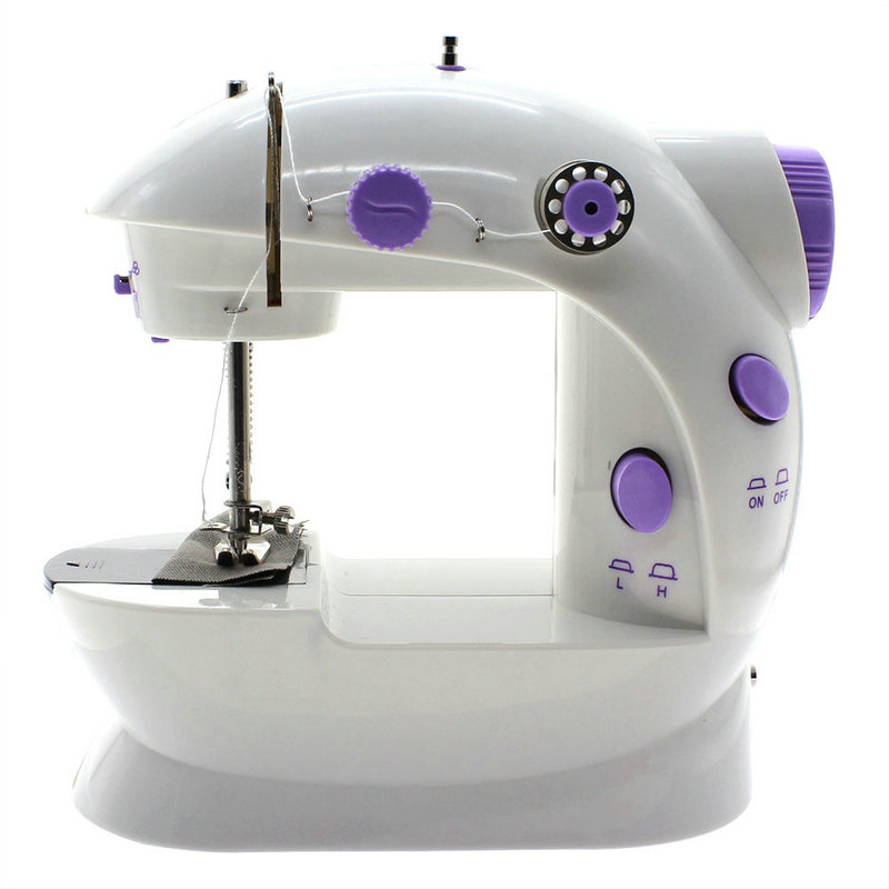 EU Plus 40 Mini 40 Speed Portable Electric Home Household Sewing Awesome Portable Mini Sewing Machine