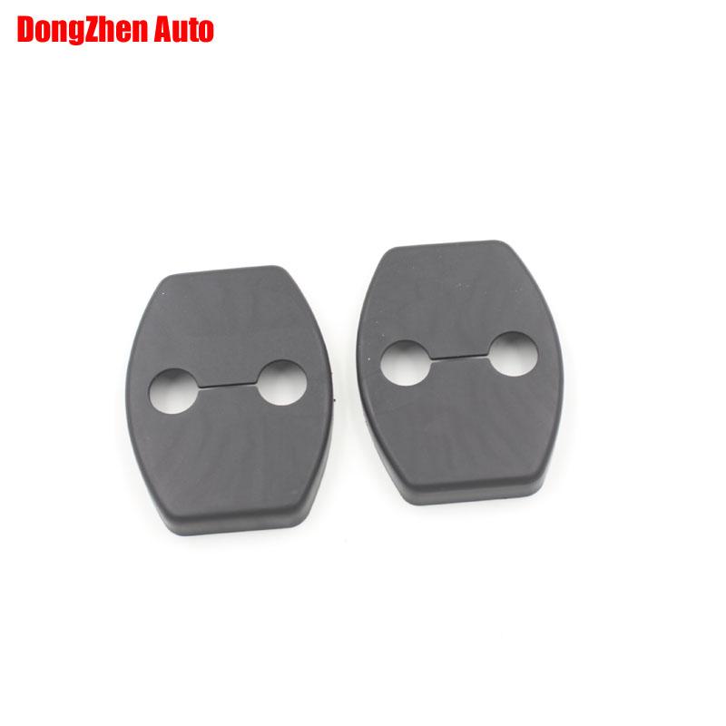 Car Door Lock Cover Fit For TOYOTA REIZ CROWN COROLLA PURUIS YARIS HIGHLANDER RAV4 CRUISER CAMRY 2006-2011 4pcs per set(China (Mainland))