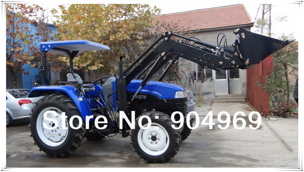 Hot Sell 40HP small garden tractor loader backhoe(China (Mainland))