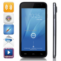 2014 Original DOOGEE VOYAGER2 DG310 Smartphone Quad Core MTK6582 Android 4.4 1GB 8GB 5.0 Inch IPS Screen Gesture Sensing OTG