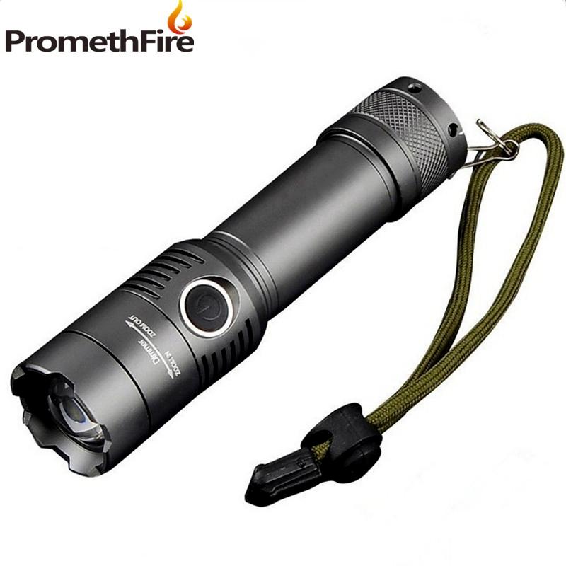 PromethFire 2000 Lumens T6 led Flashlight Led bulb Zoomable Flashlights Torch light lanternas linternas led tactical flashlight(China (Mainland))
