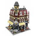LEPIN 15002 Creators Cafe Corner Doll House Building Kits Minifigure Blocks Kid Toy Gift Compatible With