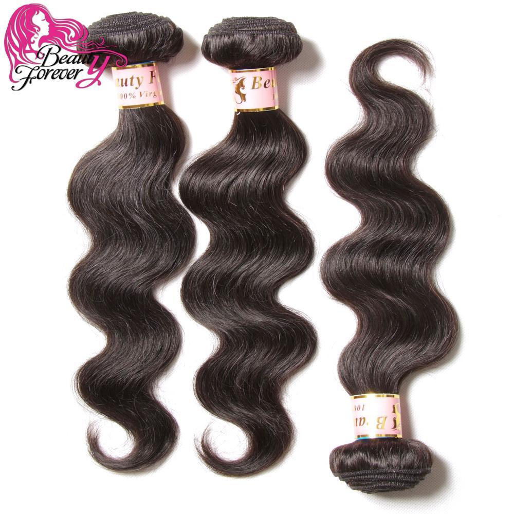 Beauty Forever Hair Malaysian Virgin Hair 100% Malaysian Body Wave ,Cheap Virgin Malaysian Wavy Hair 3 pcs Lot