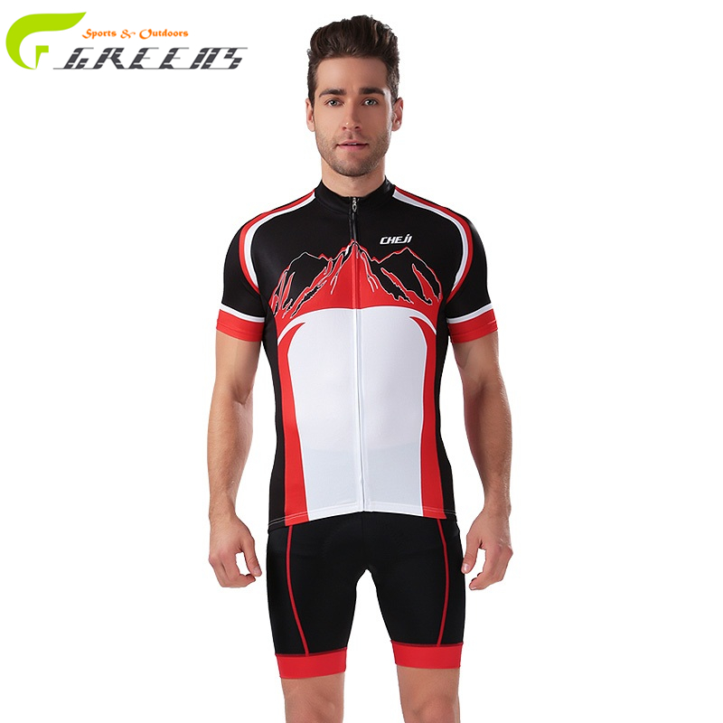 Gurensye brand Breathable Cycling Clothing Quick-Dry Racing Bike Jersey Bicycle Cyle Clothes Wear Ropa Ciclismo Cycling Jersey(China (Mainland))