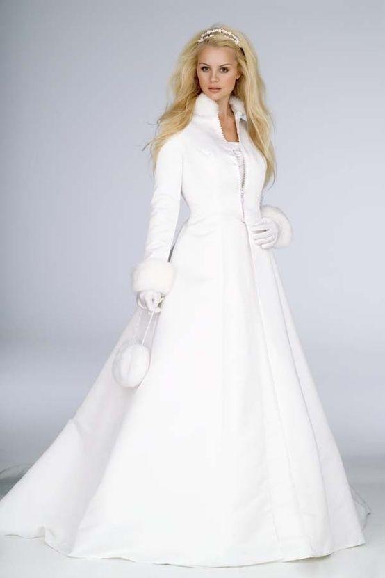 Elegant Faux Fur Satin Wedding Cloak Bridal Accessories Bride Coat Winter Jacket Bride Cloak Long Sleeve