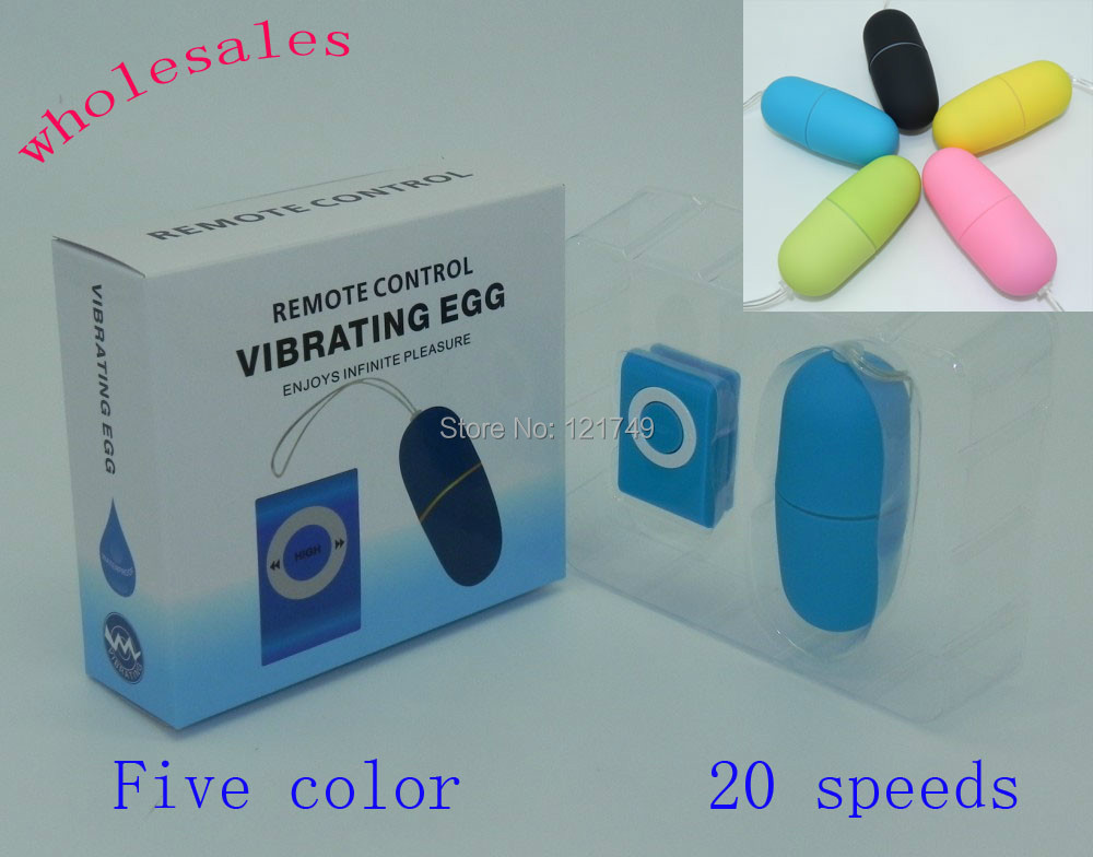 50Pcs/lot 20 Speeds Vibration Wireless Jump Eggs,Remote Control Vibrating Egg, Sex Vibrator,Adult Sex Toys For Woman(China (Mainland))