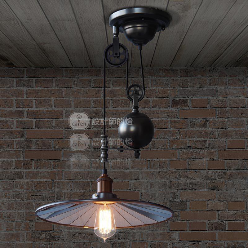 Industrial Lighting Restaurant: Creative Design Lamp Retro Rustic Pendant Light European
