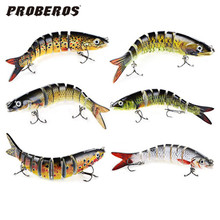 Buy Hot New 13.cm Swim Lifelike Fishing Minnow Lure Jointed Crank Bait Crankbait Bass Pesca Tackle Treble Hook Bait Wobblers Fishing for $3.83 in AliExpress store