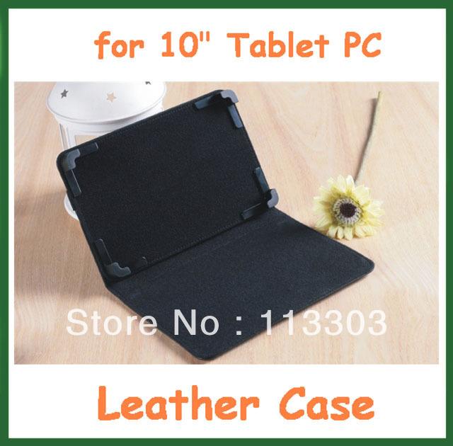"50pcs Universal 10 inch PU Leather Case w/ Stand Adjustable Cover for 10"" Tablet PC Ainol Novo 10 Eternal/ Hero/ Hero II/ U30GT(China (Mainland))"