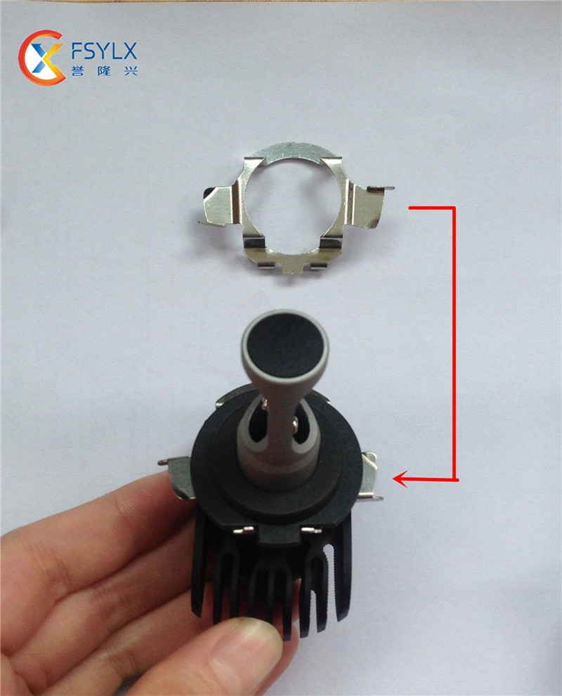 H7 Led Metal Clip ��� Retainer Retainer Adapter Bulb Holder