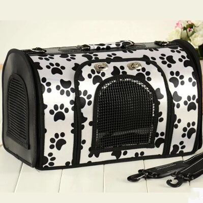 New arrival Pet Dog Carrier Durable Pet Bag Folding Carrier Cage Dog Bag Tote Bag for dogs cats pets DB023(China (Mainland))